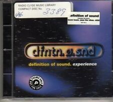 (CD244) Dfntn.o.snd, Definition Of Sound, Experience - 1996 CD