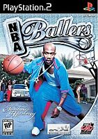 NBA Ballers (Sony PlayStation 2, 2004) PS2, Disc Only, Tested