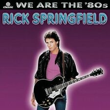 1 CENT CD We Are the '80s - Rick Springfield