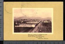 [21150] BIELLA - PANORAMA CON LA FERROVIA _ 1910
