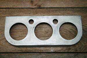 NOS EELCO 3 GAUGE UNDER DASH PANEL HOT RAT ROD FED GASSER 2-1/8 VINTAGE ORIGINAL