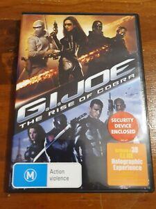 G I JOE - Rise of the Cobra - DVD - AusPost