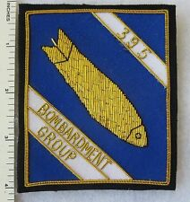 395th BOMB GROUP US AIR FORCE Bullion PATCH Custom Made for VETERANS