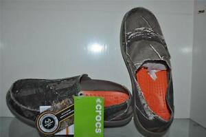 Crocs Mens Santa Cruz Realtree Xtra Camo Loafers See Sizes NWT