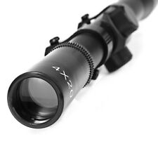 4X20 Tactical Air Optic Sighting Telescope Mounting Mounts Hunting Sniper Scope