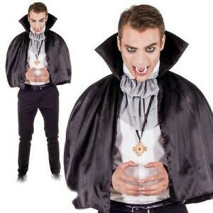 Vampire Kit Costume - Evil Dracula Fancy Dress Outfit Halloween Party Adults