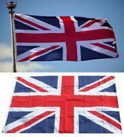 Large Union Jack Flag 5 x 3FT Eyelet Polyester Great Britain British GB UK Sport