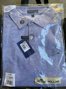 Scotty Cameron Gallery Ace Cotton Blend Polo Peace Painter Circle T Grey Large