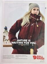 "Original Print Ad 2018 Fjall Raven Ski Parka 8"" x 11"" PA-710"