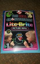 Vintage 80s The Real Ghostbusters Lite Brite Picture Refill UNUSED RARE