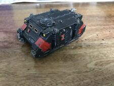 Black Fully Assembled & Painted Warhammer 40K Miniatures