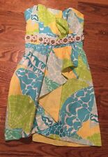 LILLY PULITZER  Cocktail Crystal Dress, sz 0 - GORGEOUS!!!