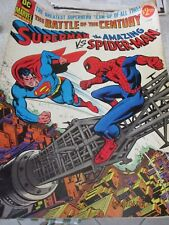 Superman vs The Amazing Spider Man DC & Marvel The Battle of the Century VG+
