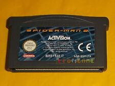 SPIDER-MAN 2 Game Boy Advance SpiderMan Gba Vers Italiana SOLO CARTUCCIA - CU