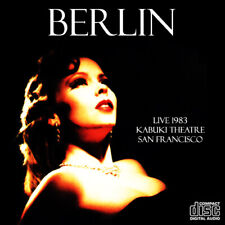 BERLIN @LIVE'83 CD-4 Terri Nunn,The Go-Go's,Blondie,Nena,Fixx,Motels FEMALE ROCK