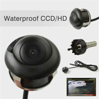 HD 360° CCD Car Rear View Reverse Backup Parking Camera Waterproof Night Vision