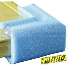 More details for strong flexible blue foam corner edge protectors for edges *full range of sizes*