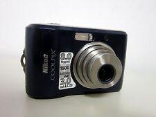 Nikon COOLPIX L18 8.0 MP Digital Camera - Blue Nikkor 3X Optical Zoom