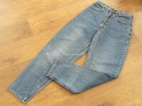 """Levi's 727. W31"""", L32"""", Blue Denim Relaxed Tapered Jeans, Rise 13"""", Hem 14"""" vgc"""