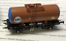 Heljan 1111 B Tank Wagon United Molasses UM252/48053 Brown/Blue OO Gauge