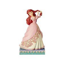 New Jim Shore Disney Figurine Princess Passion Ariel Statue Little Mermaid Pink