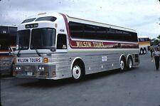 Wilson Tours Eagle Bus Kodachrome original Kodak Slide