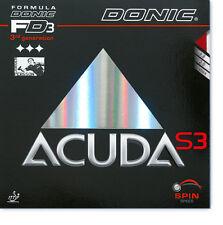Donic Acuda S3 Revestimiento de Tenis de Mesa Revestimiento de Ping Pong