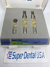 Box5 Ips Tetric Cad Refill For Programill Mt A3 I12 Ivoclar Dental Blocks