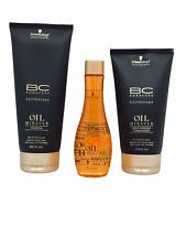 Schwarzkopf BC Oil Miracle set Shampoo 200 ml Conditioner 150 ml Oil 100 ml