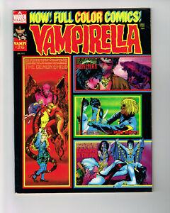 VAMPIRELLA #26 WARREN 1973 HORROR COMIC MAG MONSTERS MAROTO DUBAY AURALEON BEA +