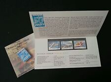 50 Years Of Aviation In Malaysia 1997 Airplane Transport (p.pack) MNH *Rare