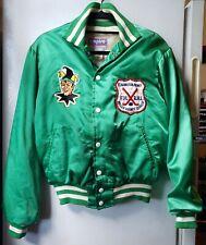 Vintage Fiddler's Green Jokers Roller Hockey Satin Jacket Brooklyn Ny Medium Htf
