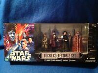 Star Wars Lucas Collector's Set of 4 Jukassa, Papanoida, Taneel,  Eekway - New!