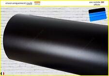 film vinyle noir mat thermoformable sticker adhésif covering PRO 152cm x 20cm