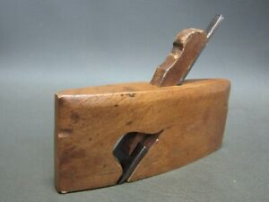 "Wooden 3/4"" radius rebate rabbet plane vintage old tool"