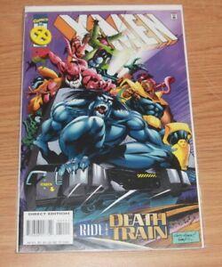 X MEN # 51 1996  Marvel  mr sinister DEATH TRAIN  bishop gambit beast