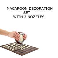 Macaroon Decorating Flexible Baking Mat Cake Muffin Pastry Sheet