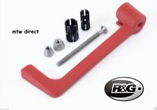 R&G RACING RED Moulded Lever Guard Yamaha YZF-R1 (2003)