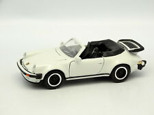 NZG SB 1/43 - Porsche 911 Turbo Cabrio Bianco