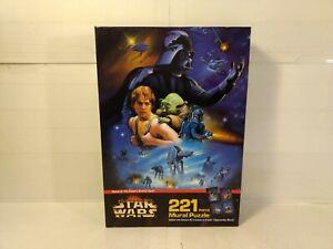 Milton Bradley Star Wars Scene 2 Empire Strikes Back 221 Piece Mural Puzzle