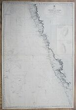 More details for india west coast viziadrug to cochin laccadive antique admiralty chart map 1860
