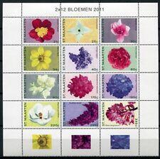 ST. MAARTEN 2011 Blumen Blüten Flowers Blossoms Pflanzen ** MNH