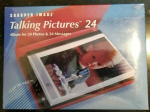 Sharper Image Talking Pictures 24 Album for 24 Photos & 24 Messages GC602 Red