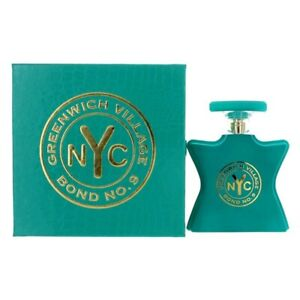 BOND No 9 NYC GREENWICH VILLAGE * 3.3/3.4 oz (100ml) EDP Spray * NEW in BOX