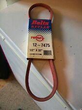 "7475 1/2"" x 32"" Kevlar Replacement Belt-John Deere M45681,M81037,Lawn Boy 707143"