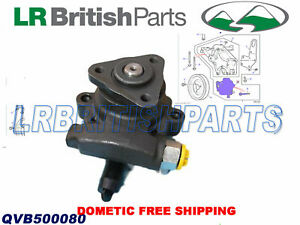 LAND ROVER POWER STEERING PUMP DISCOVERY II