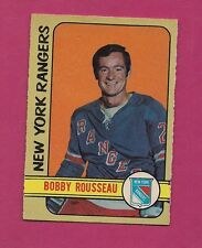 1972-73 OPC # 233 RANGERS BOBBY ROUSSEAU  HIGH #  EX CARD (INV#1048)