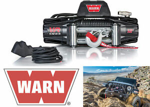 WARN 103254 VR EVO 12 Electric 12V DC 12,000lb Winch with Steel Cable Wire Rope