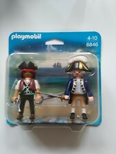 Playmobil Figures Pirate & Soldier Set 2 - Brand New Boxed - 6846