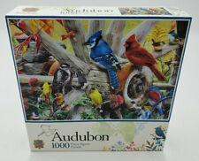 Audobon Backyard Birds 1000pc Puzzle New MasterPieces